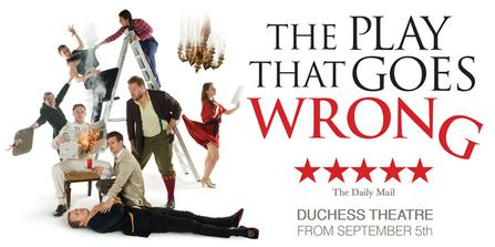 The Play That Goes Wrong  at Oriental Theatre